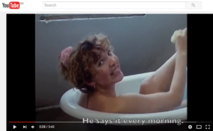 Would you believe that Eric ROhmer in his ate sixties made a pop video in 1986?